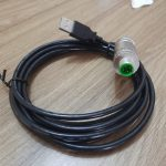 cable assemblies – M12 D code Male to USB2A Male_2